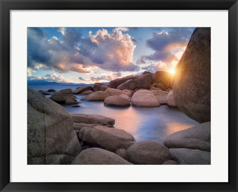 Framed Cove Sunset Print
