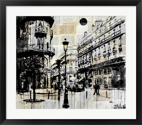 Framed French Quarter Print