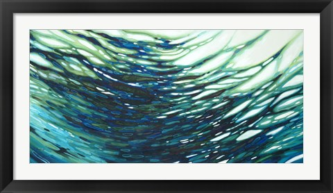 Framed Underwater Reflections Print