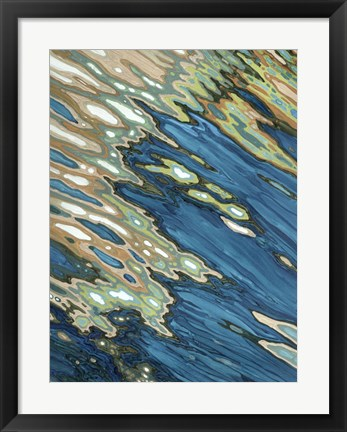 Framed Fall Reflections Print