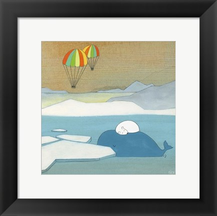 Framed Mighty Dreams Print