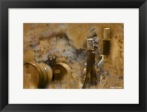 Framed Sonoma Wine Print
