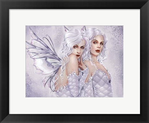 Framed Silver Sisters Print