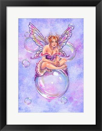 Framed Bubbles Print