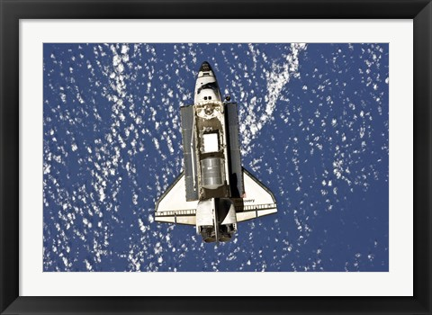Framed Space Shuttle Print