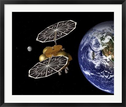 Framed Separation of an Earth Entry Vehicle on a Proposed Mars Sample Return Mission Print