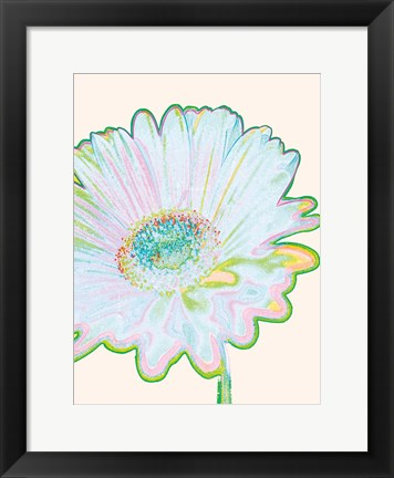Framed Pop Daisy Print