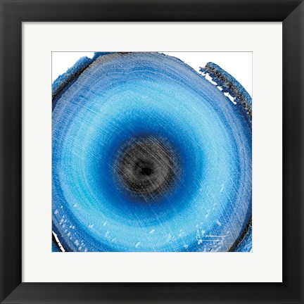 Framed Mineral Rings 4 Print
