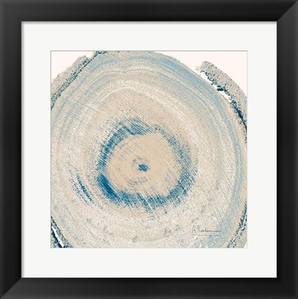 Framed Mineral Rings 6 Print
