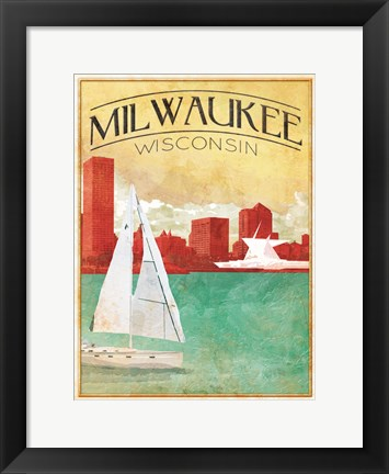 Framed Milwaukee Cover Print