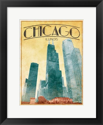Framed Chicago Cover Print