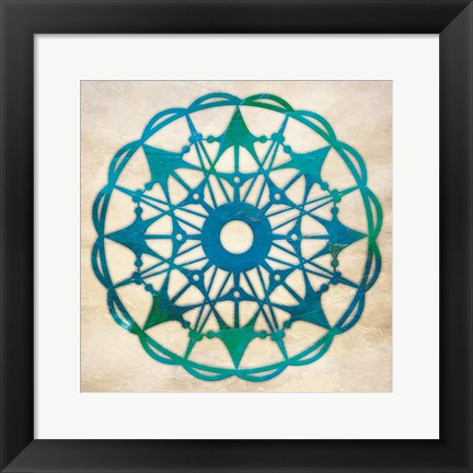 Framed Abstract Pattern I Print