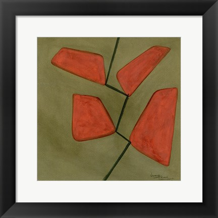 Framed Trapezoids 1 Print