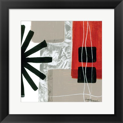 Framed Construction Zone 2 Print