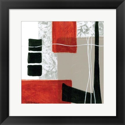 Framed Construction Zone 3 Print