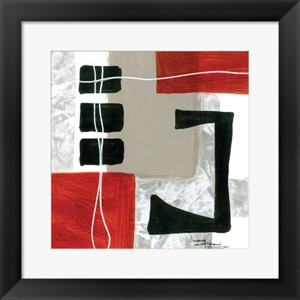 Framed Construction Zone 4 Print