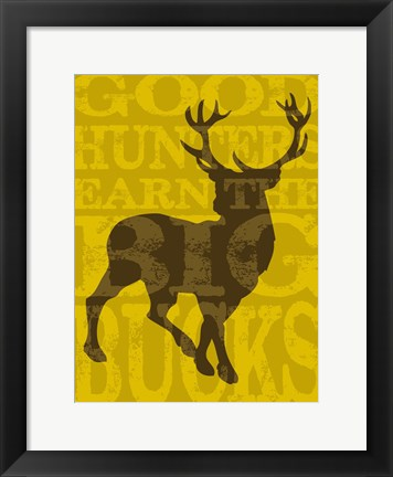 Framed Lodge Humor 06 Print