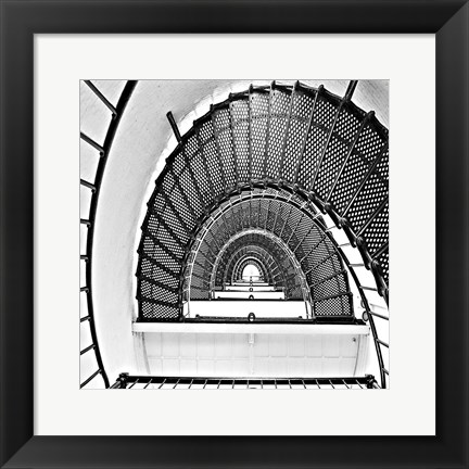 Framed Stairs Print