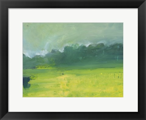 Framed Tree Line Clearing Print