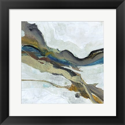 Framed Soothing Abstract Print