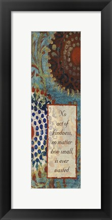 Framed Uncut Patch Inspirational 1 Print
