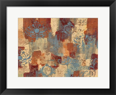 Framed Autumn Blooms Print