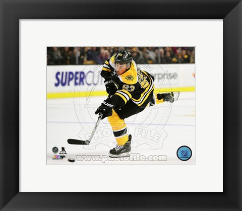 Framed Brad Marchand 2014-15 Action Print