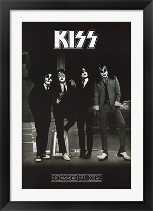 Framed Kiss - Dressed to Kill Print