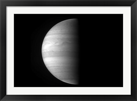 Framed Close-up view of the Planet Jupiter Print