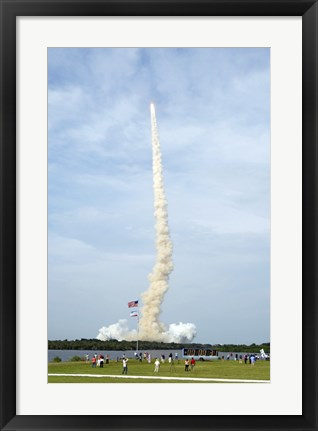 Framed Space Shuttle from Kennedy Space Center Print