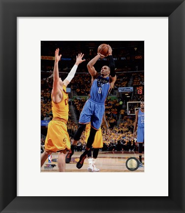 Framed Russell Westbrook 2014-15 Action Print