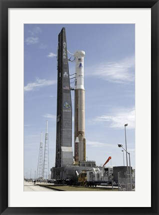 Framed Atlas V/Centaur arrives on the Launch Complex Print