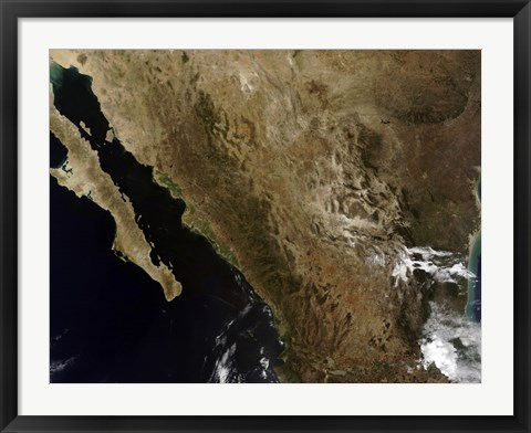 Framed Northern Mexico Print