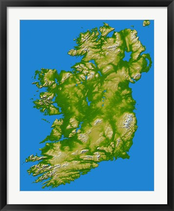 Framed Ireland Print
