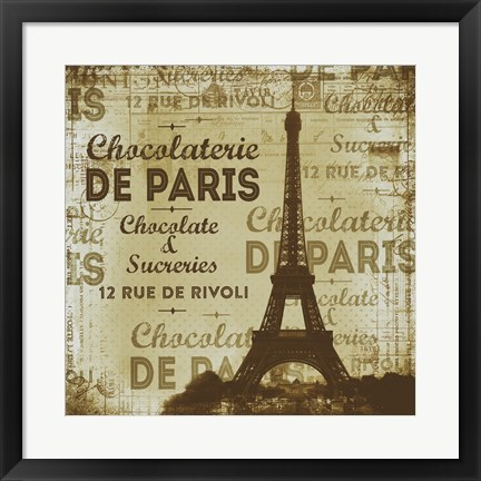 Framed De Paris Print