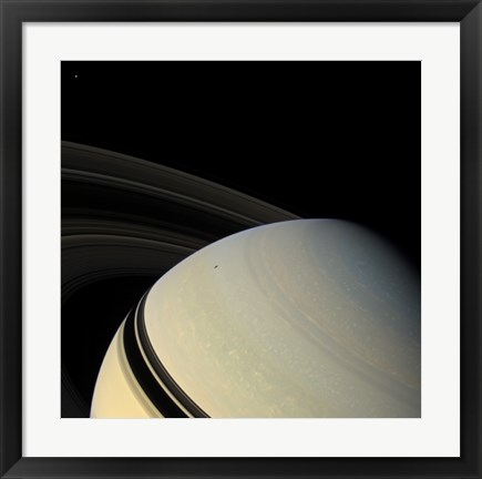 Framed Saturn Print