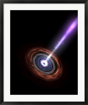 Framed Gamma Rays in Galactic Nuclei Print