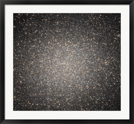 Framed Core of the Globular Cluster Omega Centauri Print