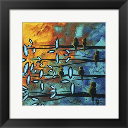 Framed Birds Of Summer Print