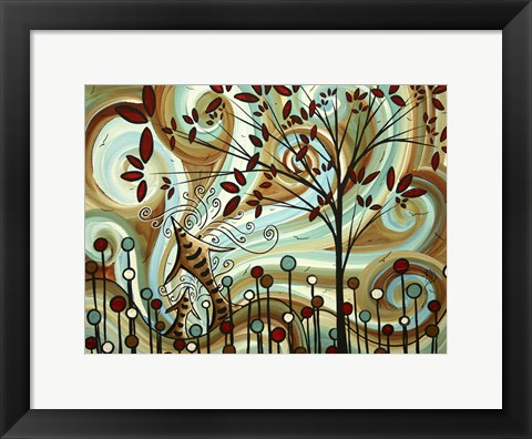 Framed Venturing Out Print
