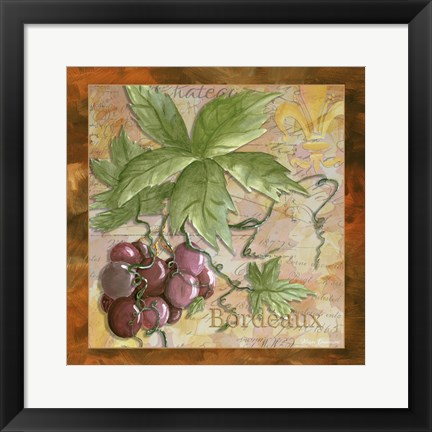 Framed Wine 12 Print