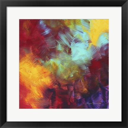 Framed Colors Of Glory II Print