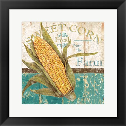 Framed Sweet Corn Print