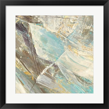 Framed Blue Water I Print