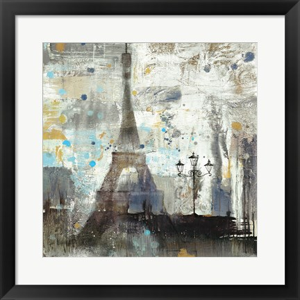 Framed Eiffel Tower Neutral Print