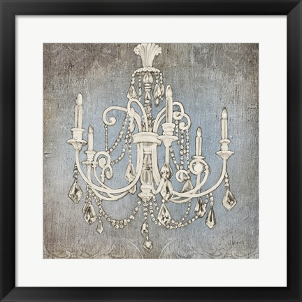 Framed Luxurious Lights III Print