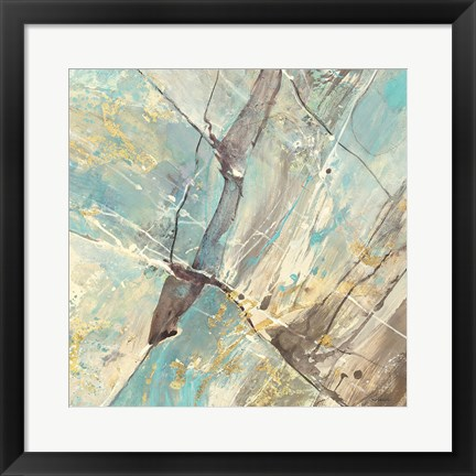 Framed Blue Water II Print