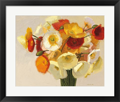 Framed November Poppies Print