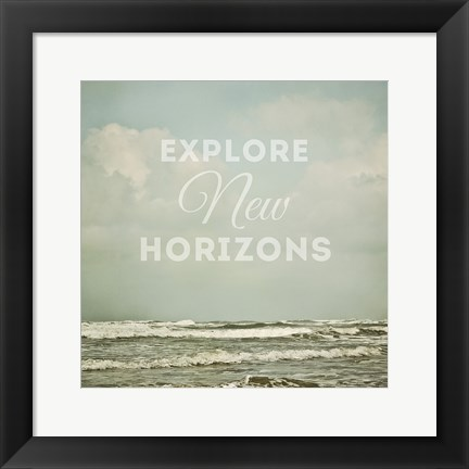 Framed Seascape Inspiration Print