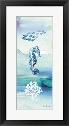 Framed Sea Life VII no Border Print